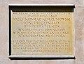 Józef Konrad Korzeniowski (Joseph Conrad) commemorative plaque, 8 Poselska street, Old Town, Kraków, Poland.jpg