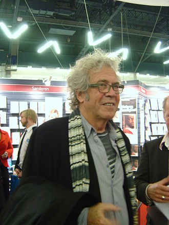 Jørgen Leth - Leth at the annual book fair, BogForum 2008, at Forum Copenhagen.