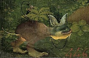 The Temptation of St Anthony (Bosch painting) - Detail