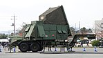 JASDF MIM-104 Patriot PAC-2 Radar Set(49-3168) right side view at Kasuga Air Base November 25, 2017.jpg