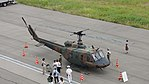 JGSDF UH-1J(41894) right front top view at Amagasaki Port July 9, 2017 02.jpg
