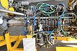 JMSDF US-2 Rolls-Royce AE2100J turboprop engine shaft & compressor section left side view at MCAS Iwakuni May 5, 2019.jpg