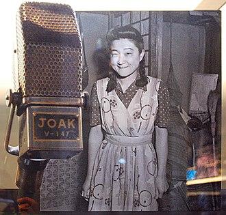Tokyo Rose - Image: JOAK microphone & Tokyo Rose, National Museum of American History