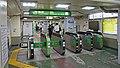 JR Yamanote-Line Komagome Station East Gates.jpg