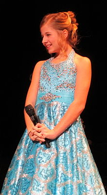 Jackie Evancho, Minneapolis, 2013.jpg