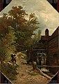 Jacob van Ruisdael, een watermolen schetsend Rijksmuseum SK-A-4865.jpeg