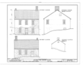 Jacobus Van Gorden House, U.S. Route 209, Egypt Mills, Pike County, PA HABS PA,52-EGYMI.V,2- (sheet 3 of 3).png