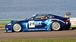 Jaguar XKR GT3 Mallory Park.JPG