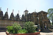 Templo jaina na cidade de Ahmedabad no Gujarate