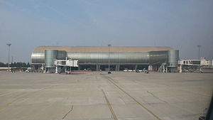 Jaipur International Airport - Jaipur International Airport Terminal 2 from Apron