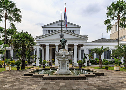 National Museum of Indonesia in Central Jakarta Jakarta Indonesia National-Museum-01.jpg