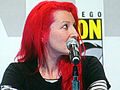 Jane Goldman at WonderCon 2010 1.JPG