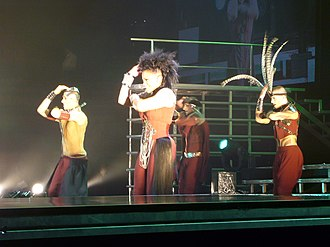 "All for You (Janet Jackson song) - Jackson performing ""All For You"" on the Rock Witchu Tour."
