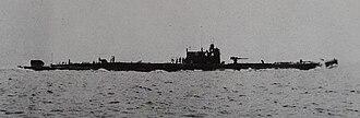 Kaidai-type submarine - I-51 in 1924