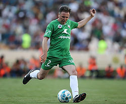Javad Zarincheh in a charity football match.jpg
