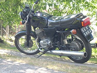 Jawa 350 - Jawa 350/638 Twin Sport from 1988
