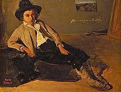 Jean-Baptiste-Camille Corot Jeune italien assis.jpg