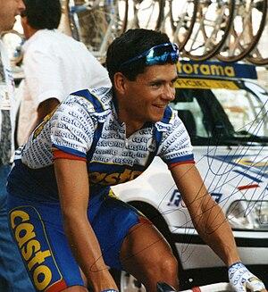 Jean-Cyril Robin - Robin at the 1993 Tour de France