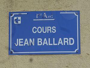 Jean Ballard - Street sign.