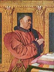 Jean Fouquet: Portrait of Guillaume Jouvenel des Ursins