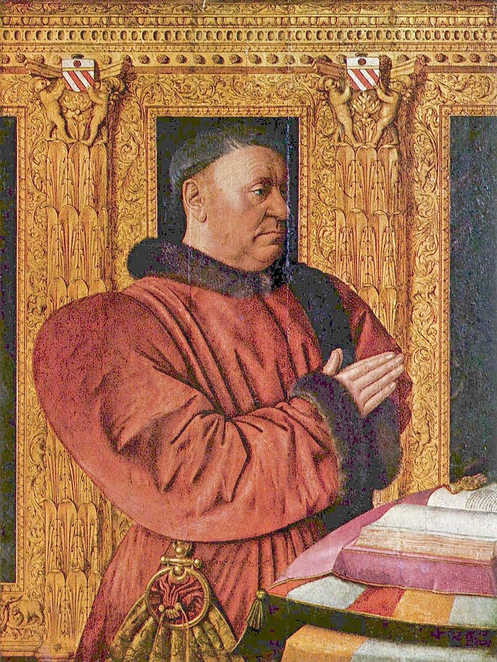 Jean Fouquet - Portrait of Guillaume Jouvenel des Ursins - Louvre