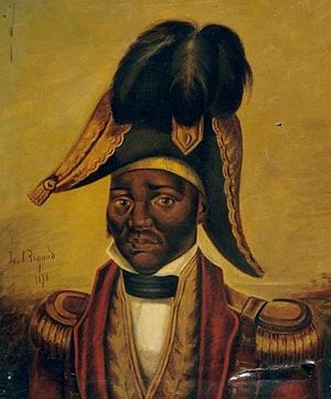 Jean-Jacques Dessalines - Posthumous portrait of Dessalines from the 19th century