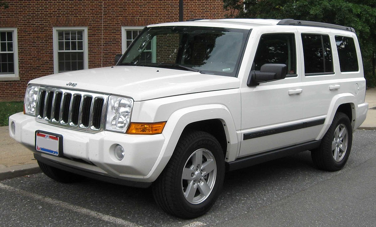 2007 jeep commander maintenance schedule