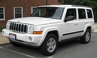 Jeep Commander (XK) - Image: Jeep Commander