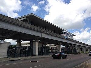 Jefferson station (Jacksonville Skyway) - Image: Jefferson Station