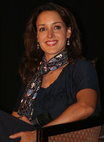 Jennifer Beals at the 2008 L5 convention in Bl...
