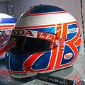 Jenson Button 2006 helmet 2014 Honda Collection Hall.jpg