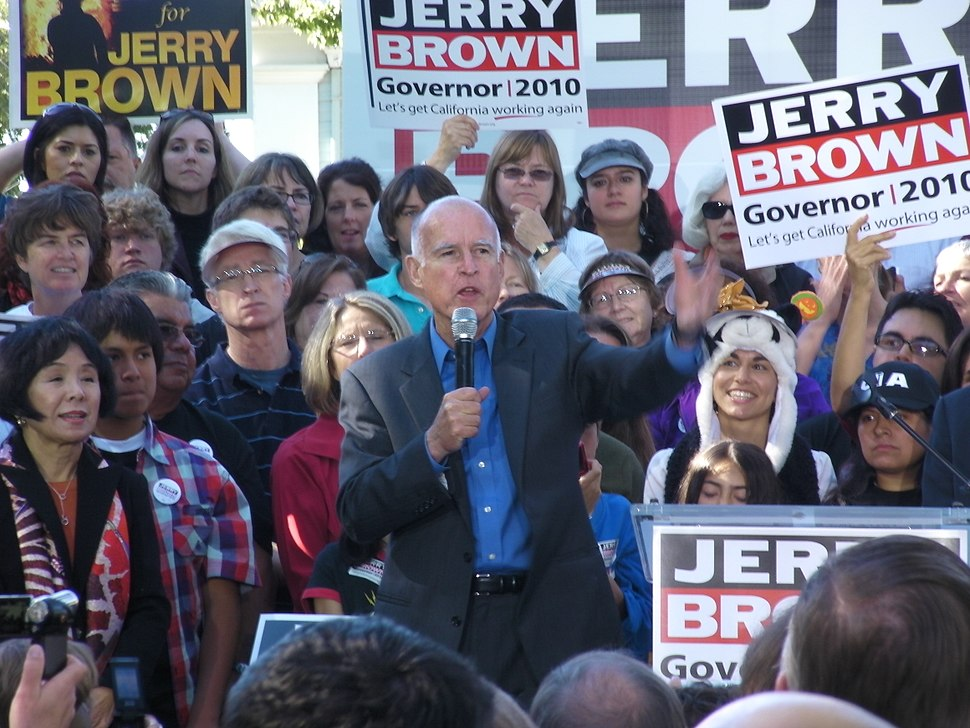 Jerry Brown rally G