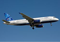 Airbus A320-200 der Jetblue Airways