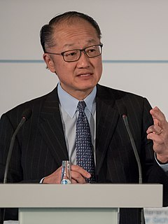 Korean-American physician and anthropologist, 12th President of the World Bank