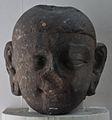Jina Head - Kushana Sculpture - Circa 2nd-3rd Century AD - Mathura - Uttar Pradesh - Indian Museum - Kolkata 2012-11-16 2089.JPG