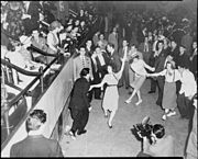 Jitterbug dancers in 1938