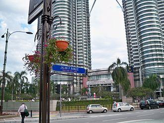 P. Ramlee - P. Ramlee Street in Kuala Lumpur.