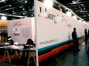 Joburg Art Fair at the Sandton Convention Cent...