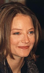 Photo of Jodie Foster in 1995.