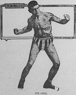Joe Grim American boxer