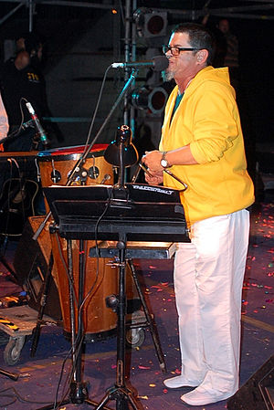 Congreso - Joe Vasconcellos worked as a leader singer between 1980 and 1984. Here he is in 2011.