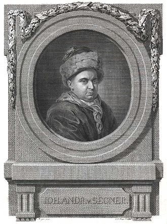 Johann Andreas Segner - Johann Andreas Segner's portrait