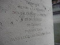 Johann Gottfried TULLA - Cimetière de Montmartre 04.JPG