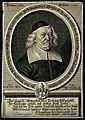 Johann Valentin Maier. Line engraving by J. Sandrart. Wellcome V0003788.jpg