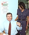 John Ashcroft donating blood.jpg