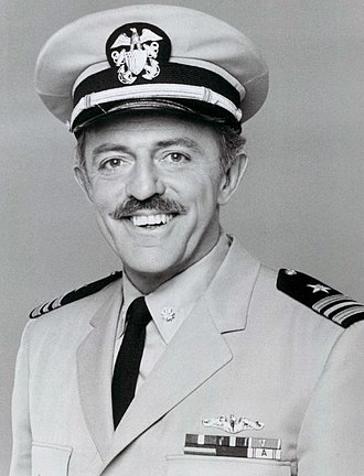 John Astin - Astin in a 1977 publicity photo for Operation Petticoat