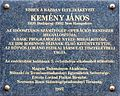 John G Kemeny plaque Bp05 Bajcsy-Zsilinszky38.jpg