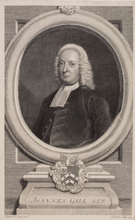 John Gill (theologian) British theologian and pastor
