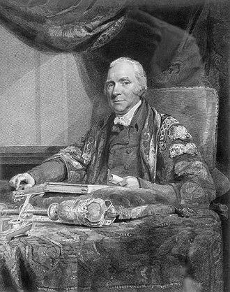 Latham of Bradwall - John Latham (1761–1843) President of Royal College of Physicians, by John Jackson.