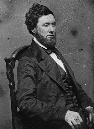 Maryland's 4th congressional district - Image: John Nelson, bw photo portrait, Brady Handy collection, circa 1855 1865
